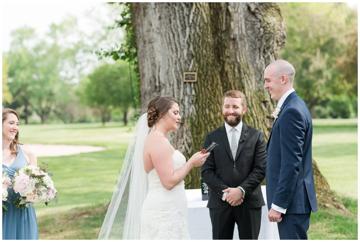 columbus ohio wedding photos brookside golf and country club outdoor wedding_0081