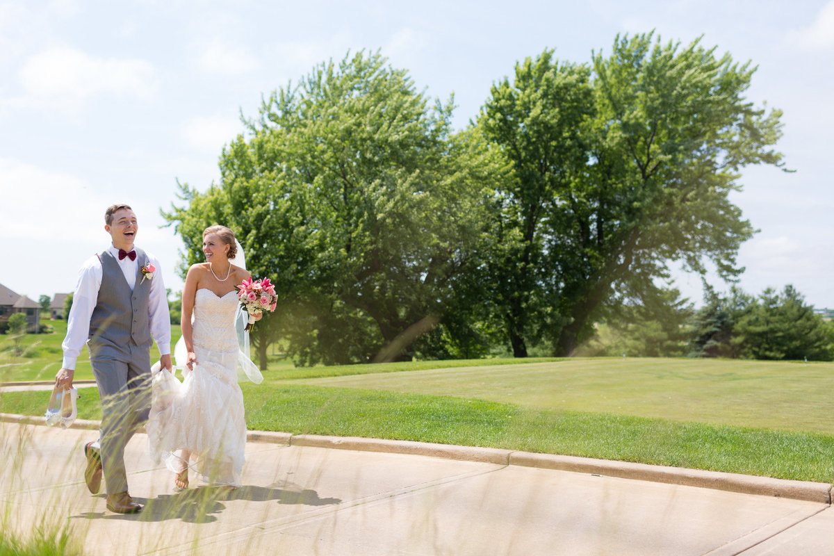 somerby golf wedding bride and groom
