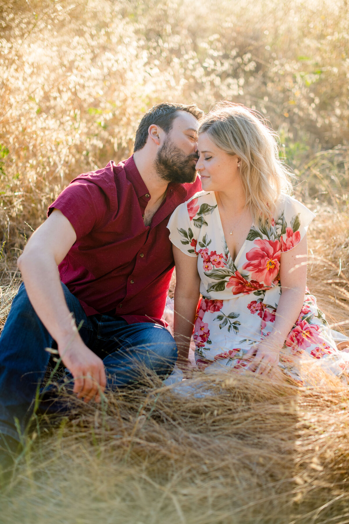 Sunset Engagement Session at Topanga Canyon
