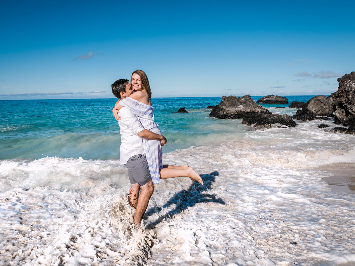 Kua Bay Engagement Session