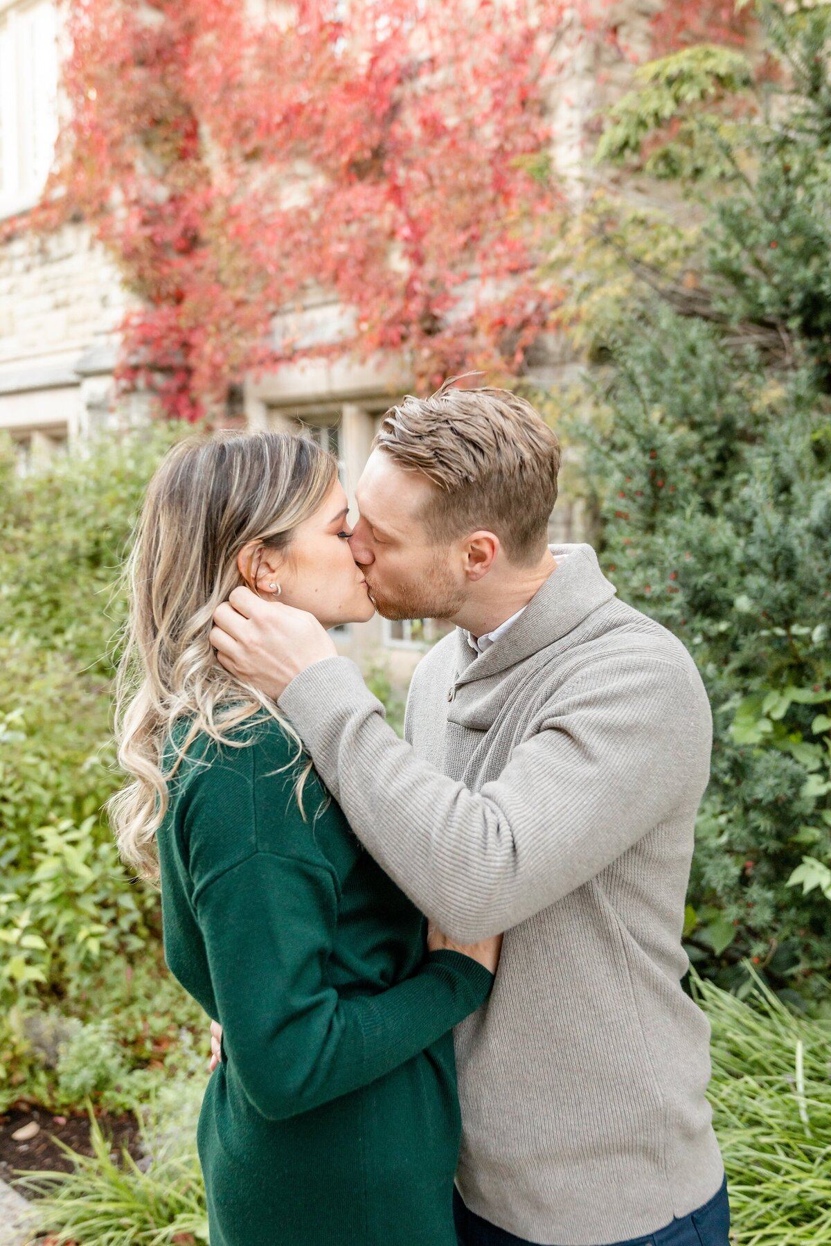 Couple-kisses-as-guy-pushes-back-her-hair-at-western-university
