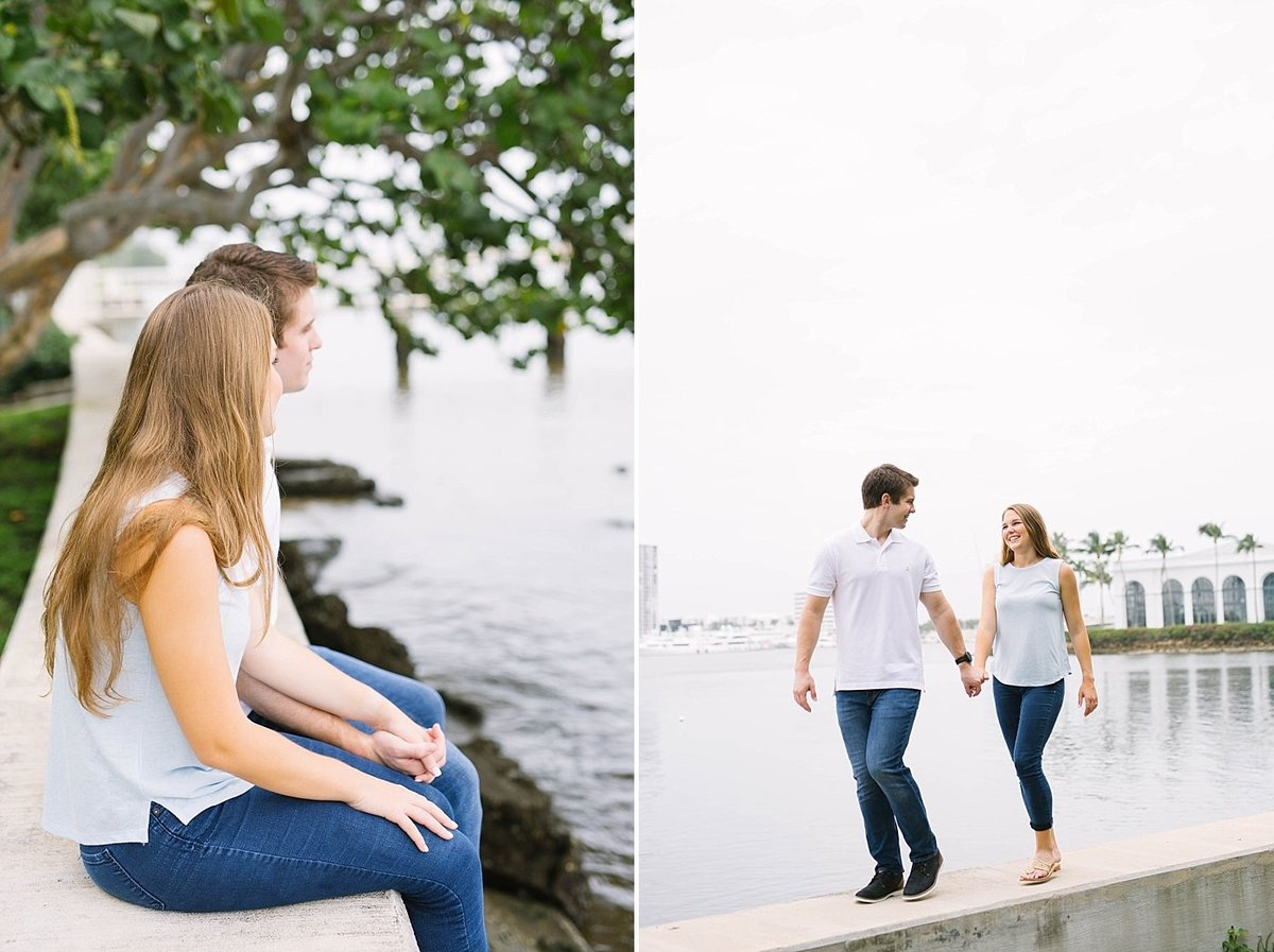 West Palm Beach Florida Engagement Session Flagler Museum_0002