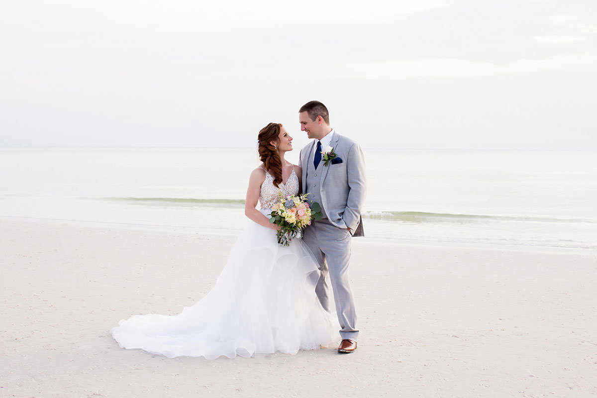 marco beach ocean resort beach wedding photo