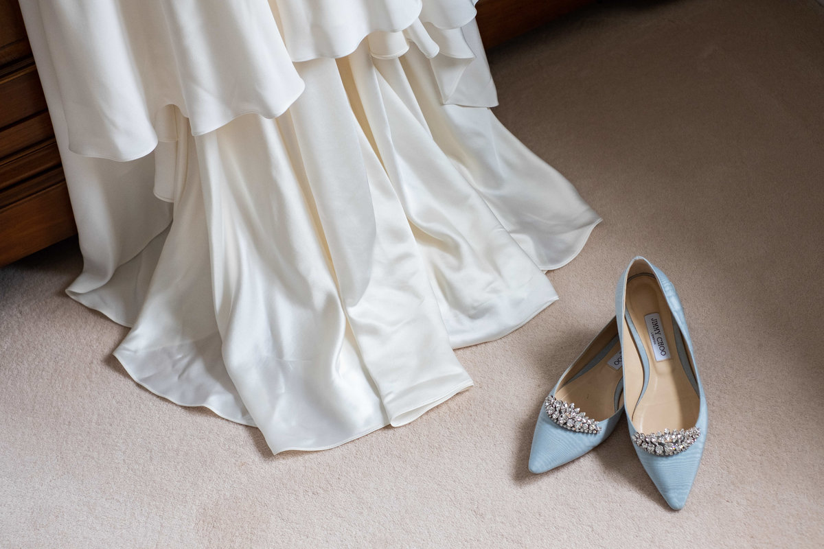 Jimmy Choo Wedding Flats