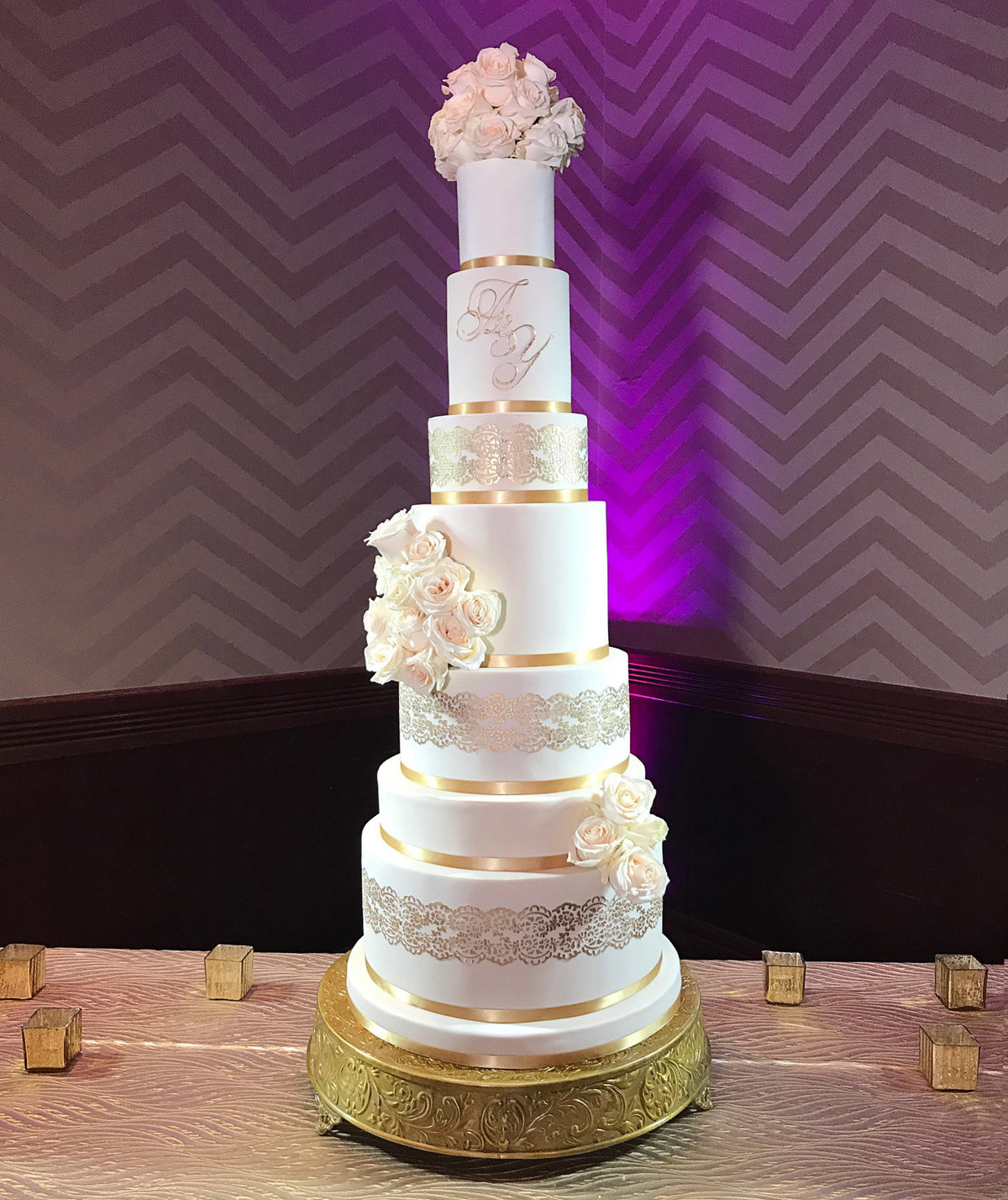 Whippt Desserts wedding cake June2017