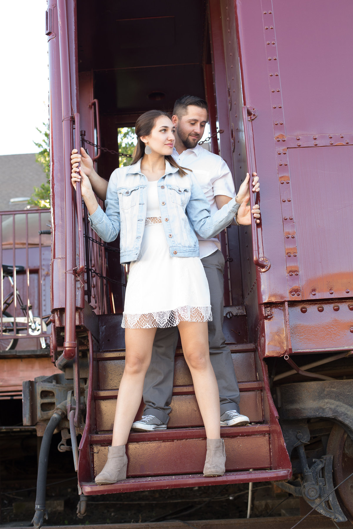 train engagement shoot