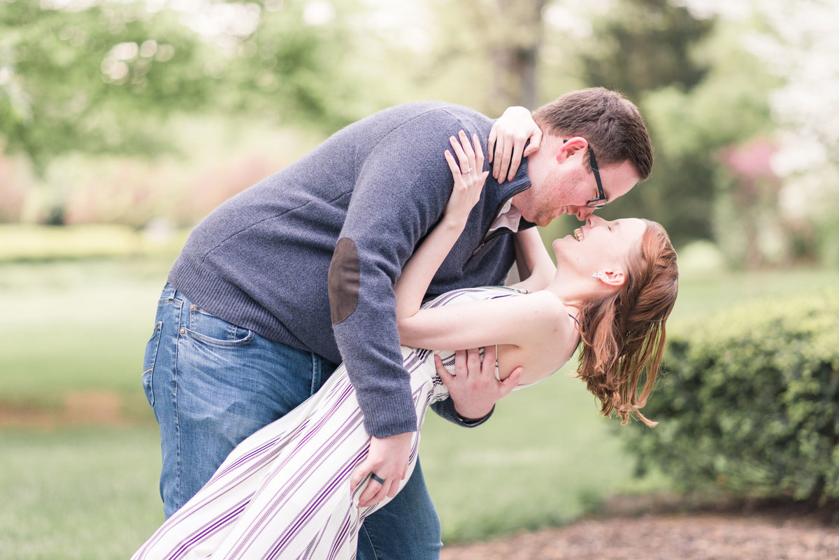 Cait Potter Creative LLC Holcomb Gardens Spring Engagement Photos-13