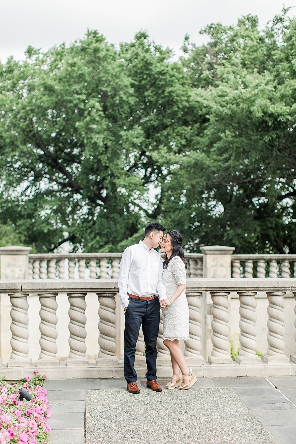 An Elegant Spring Engagement Session at the Dallas Arboretum and Botanical Gardens  by Allison Jeffers Wedding Photography_0053