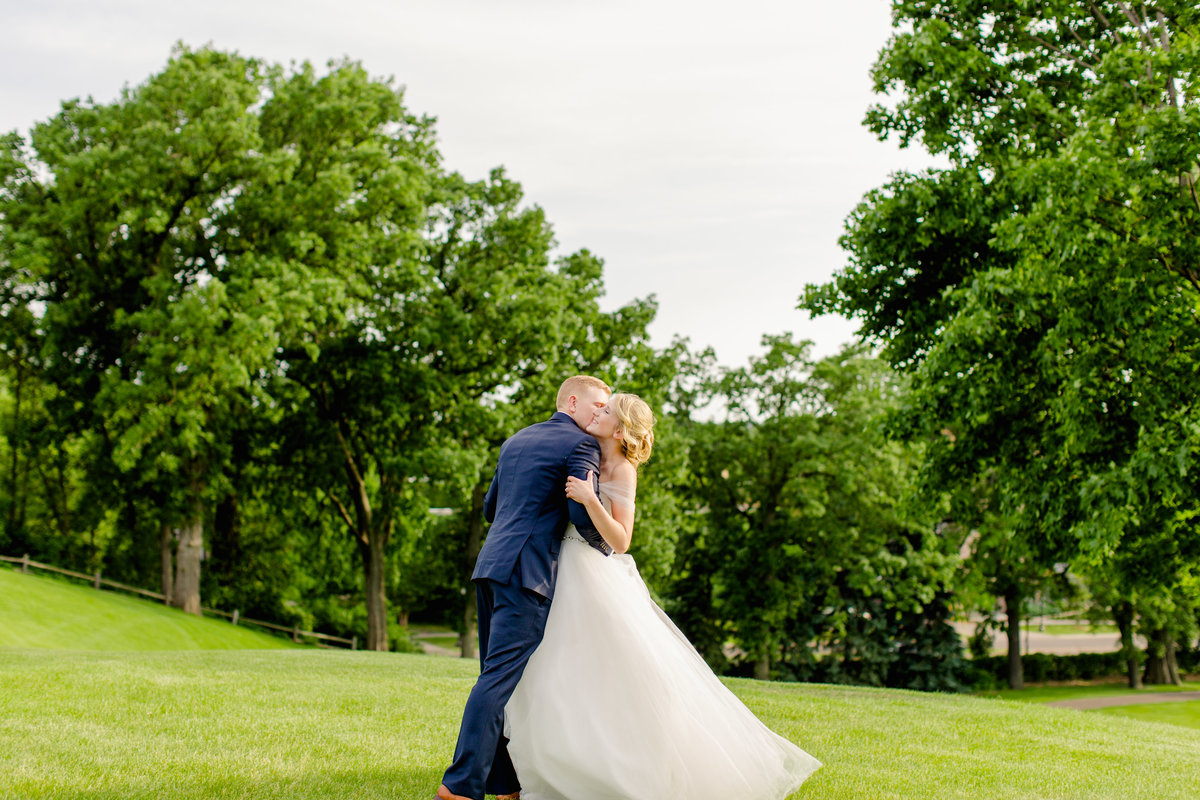 Town and Country Club Saint Paul wedding