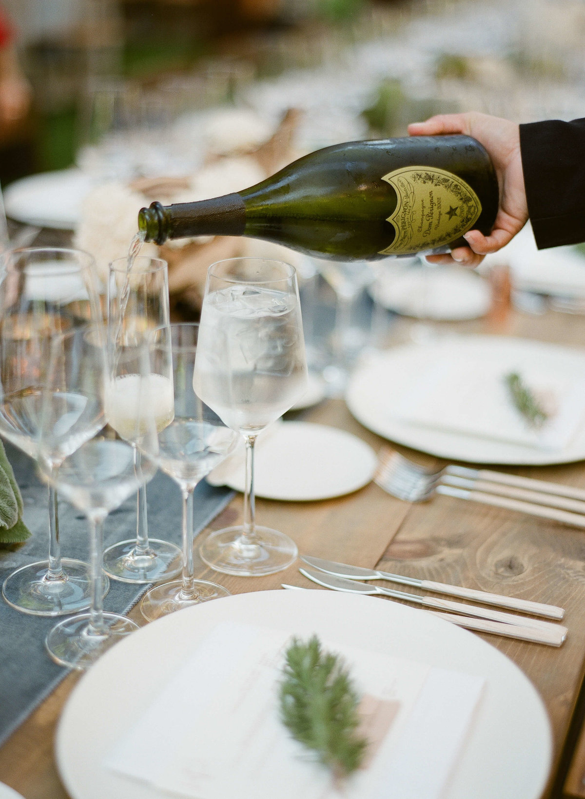 55-KTMerry-wedding-reception-DomPerignon-NapaValley