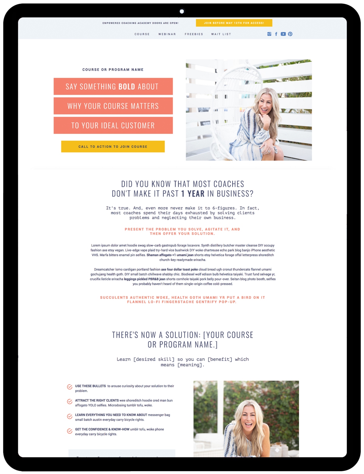 Sara-Template-Sales-Funnel