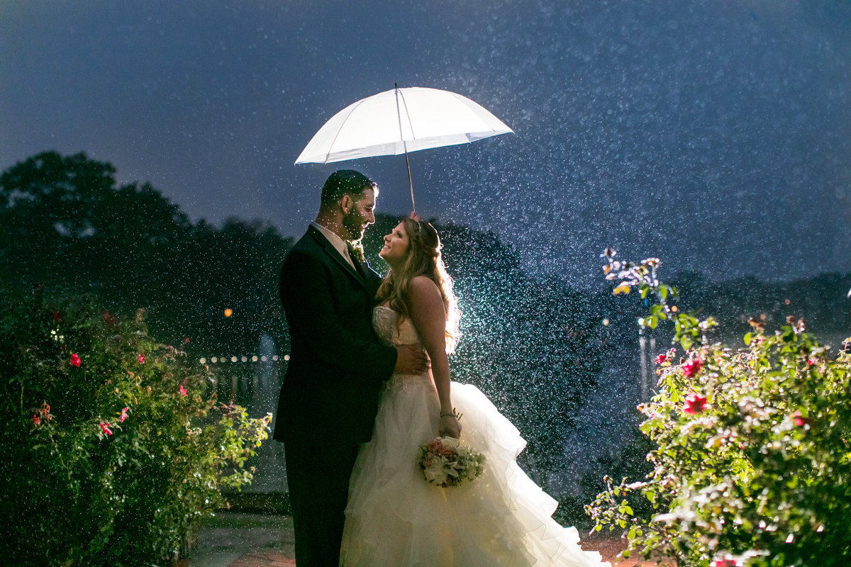 Rainy Wedding Baltimore Photographer