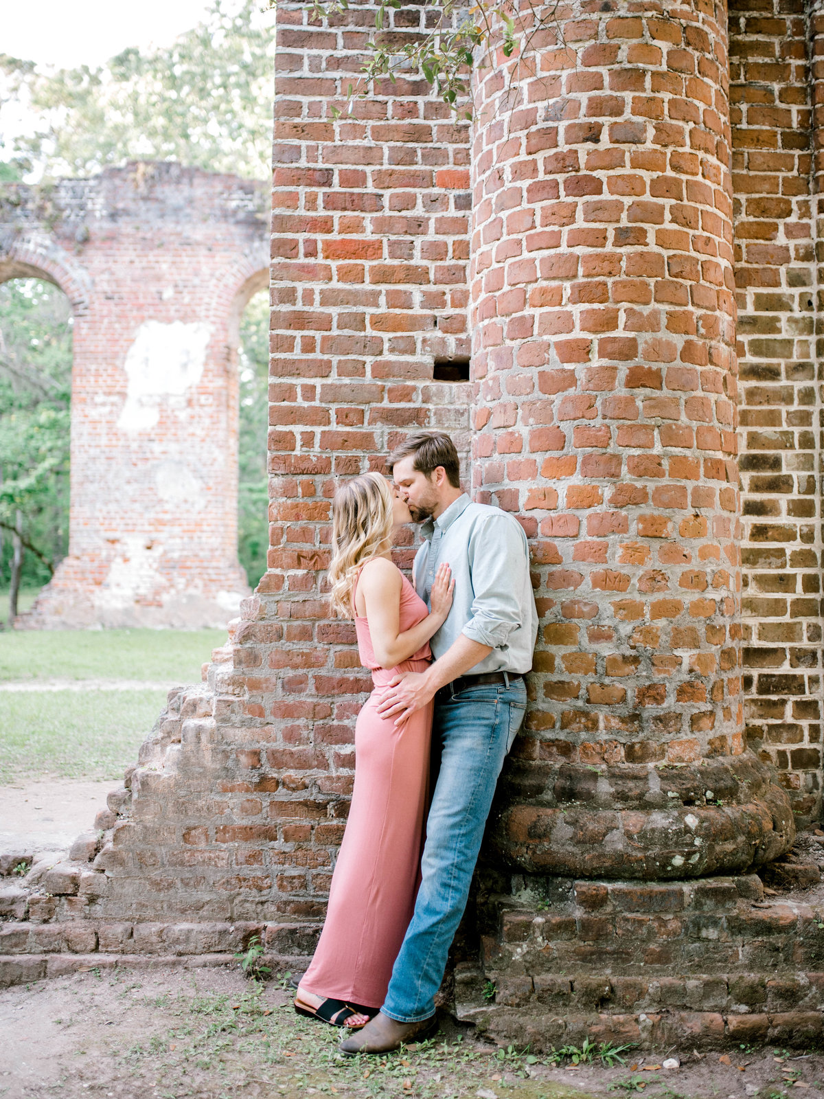 Railroad Museum Dreamy couple Mackey House Wedding Savannah