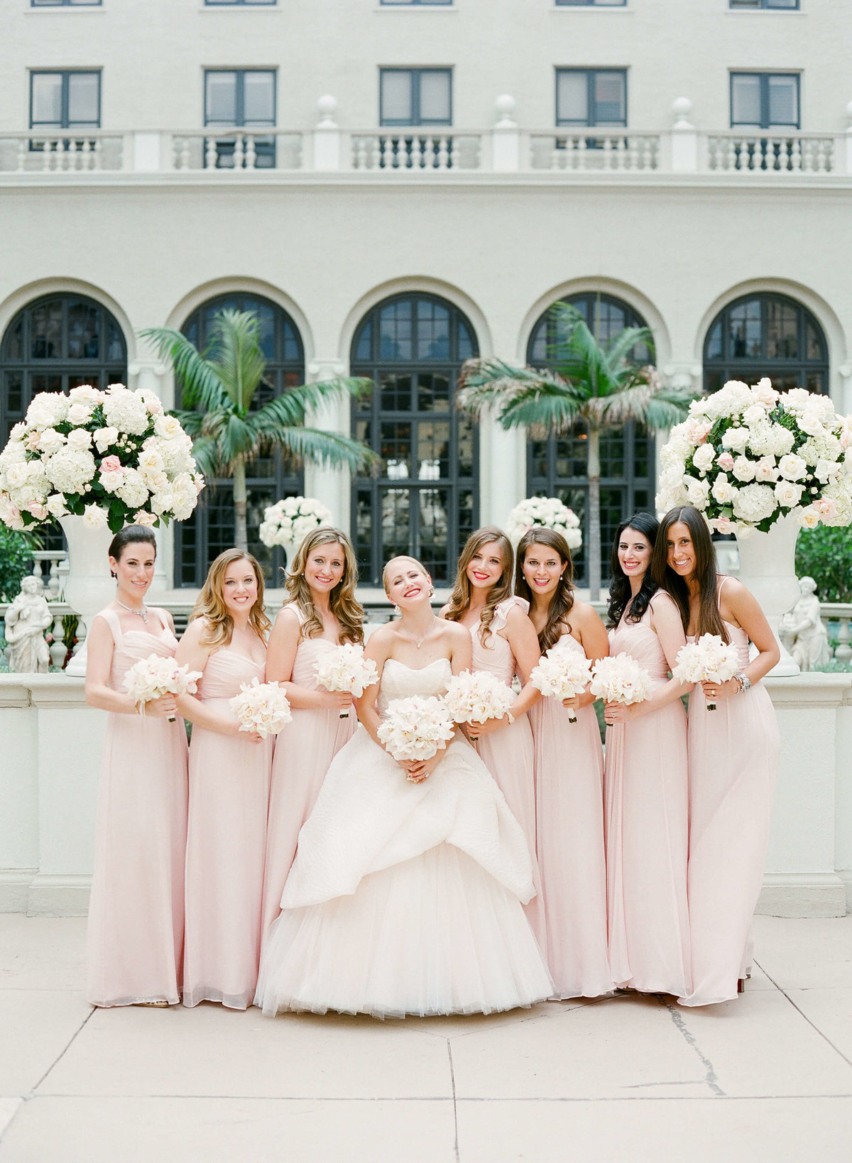 22-KTMerry-weddings-Palm-Beach-bridal-party-pink