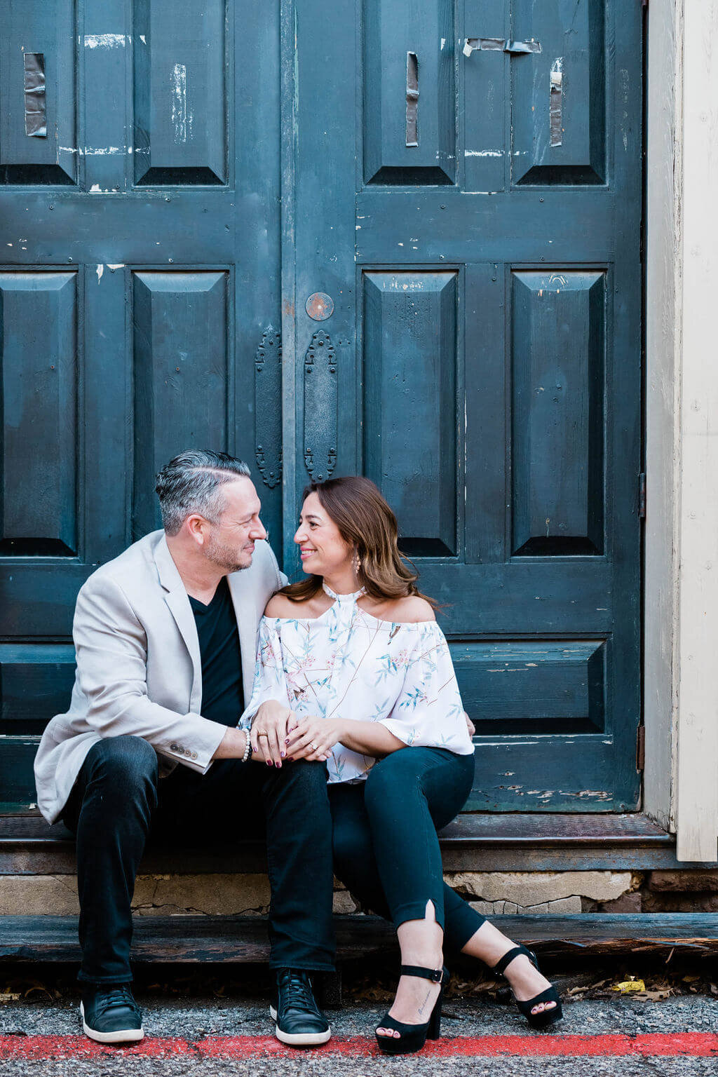 Engagement session in Dallas Fort Worth Texas