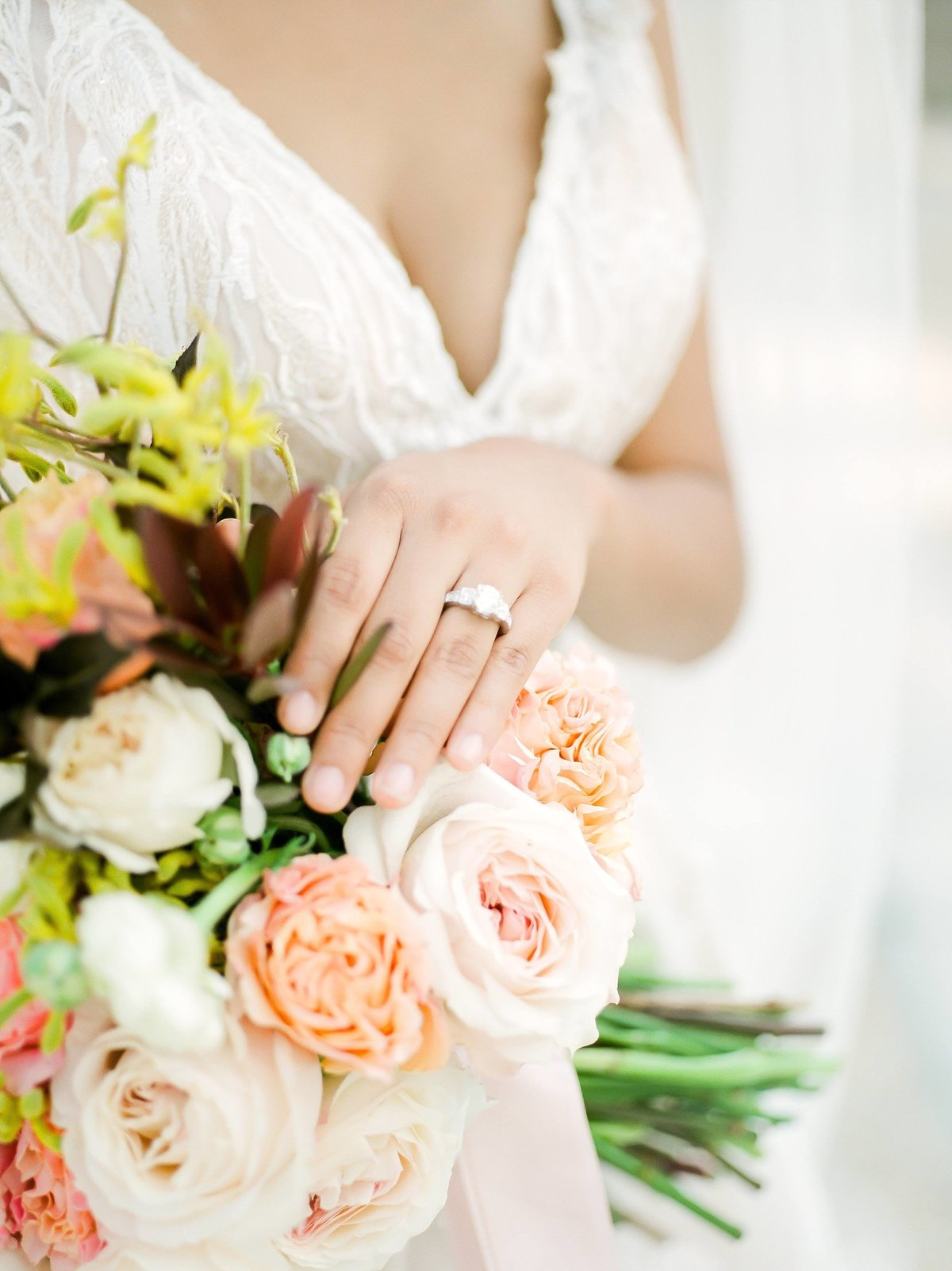 Ring Shoot on Bouquet