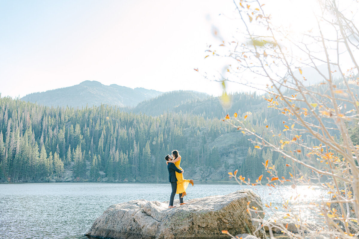 Leidy and Josh Photography | Rocky Mountain Colorado Engagement-11