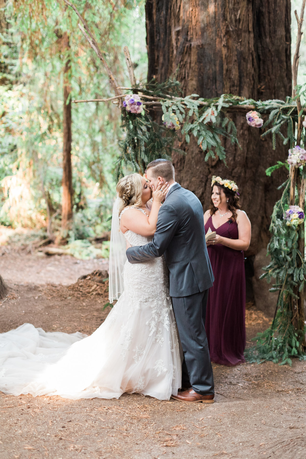 Roaring Camp Railroad Santa Cruz Wedding32