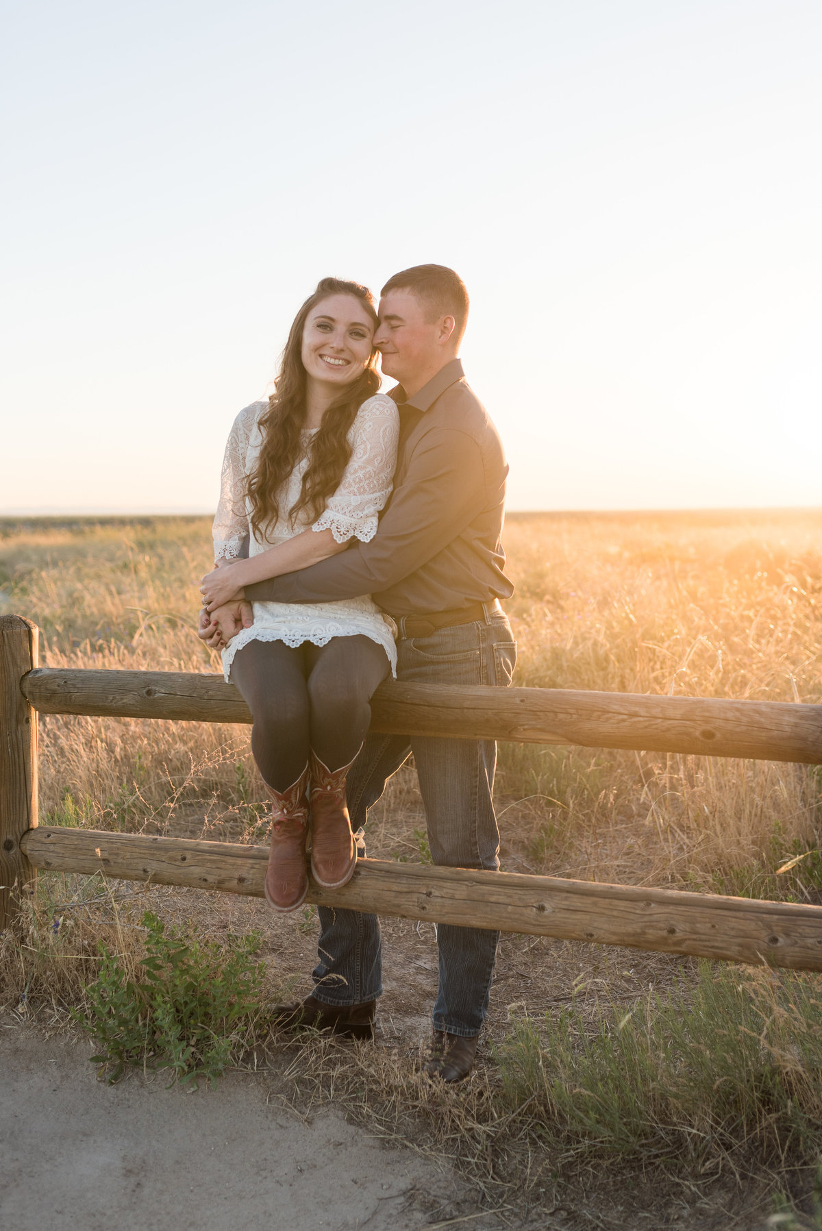 Spring Boise Foothills Engagement Shoot12