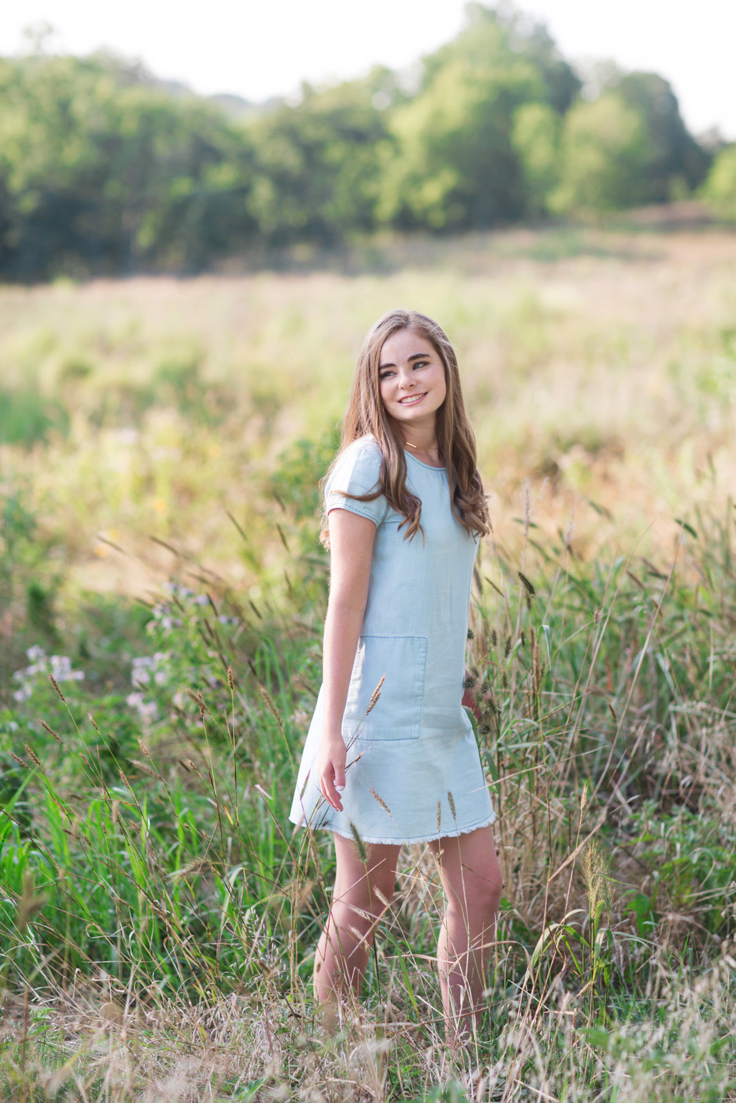 L Photographie high school senior photos Queeny Park 22