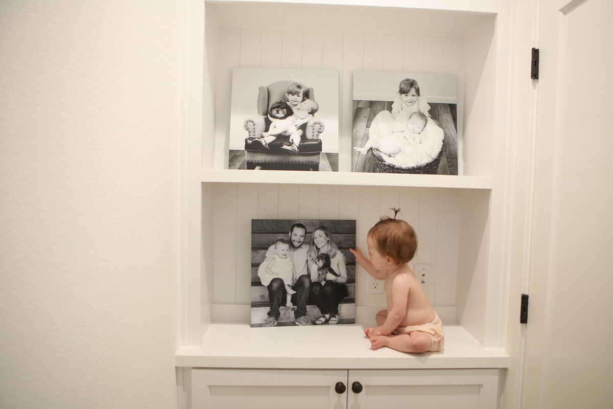 First Year Baby Photography Wall Art