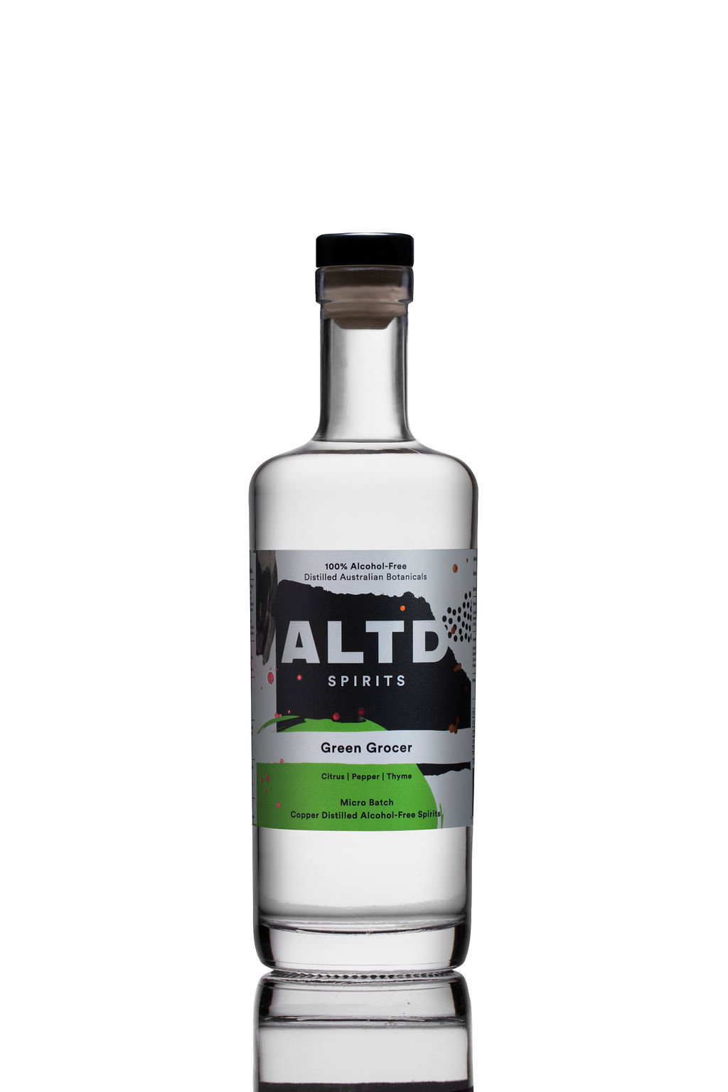 Emma Duzhnikov bottle photography product photographer ALTD spirits Australia GreenGrocer