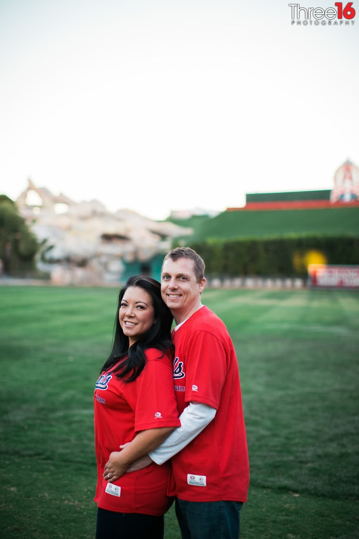 Angel Stadium Engagement Session Orange County
