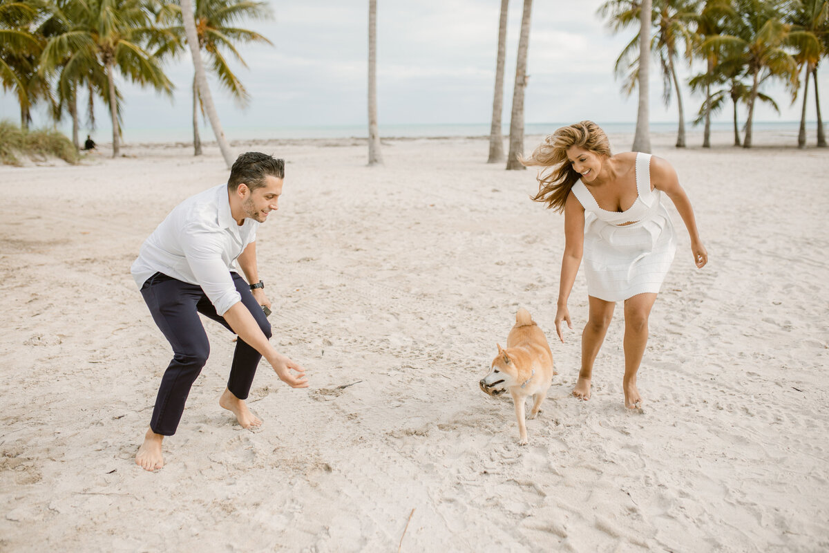 Crandon Beach Engagement Photography Session 7