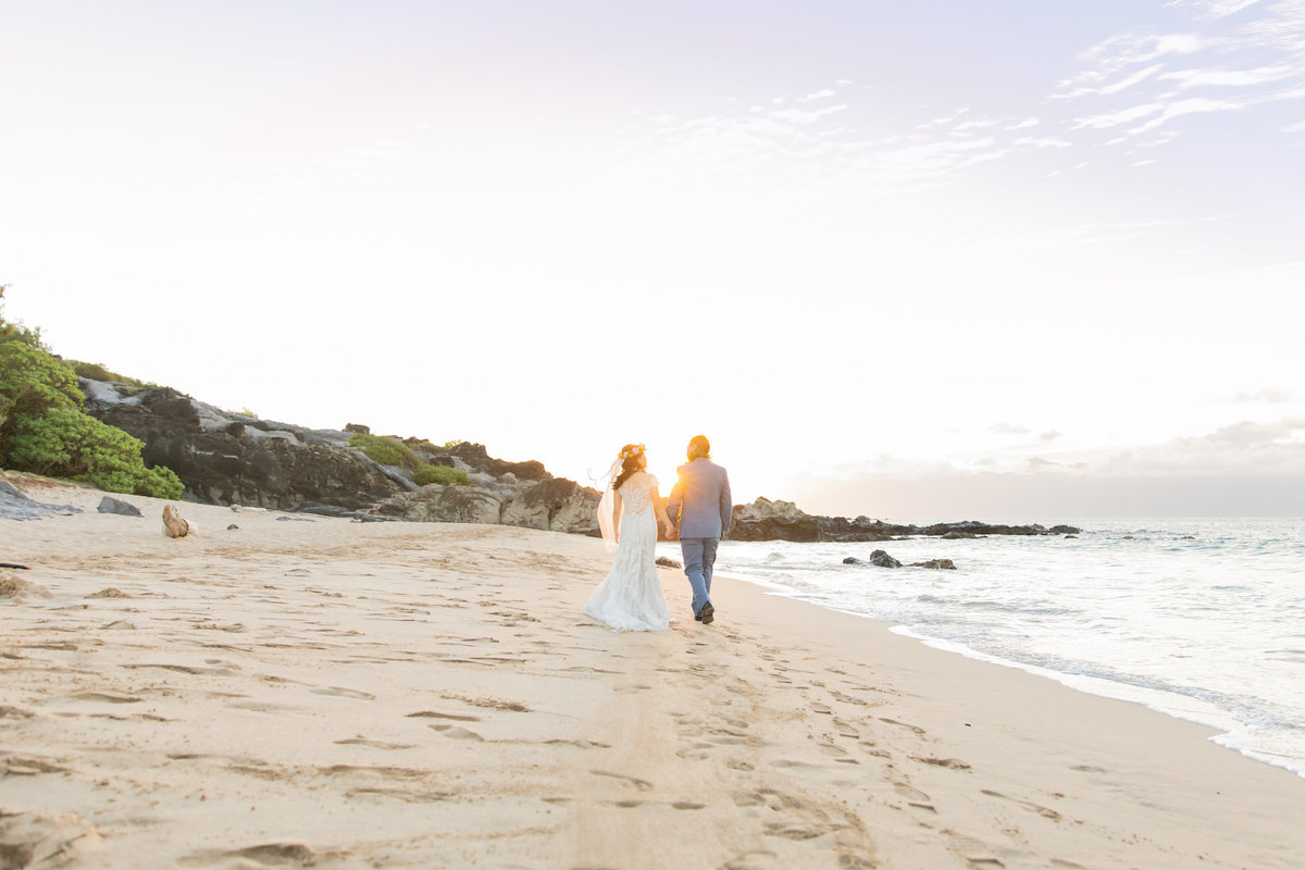 Maui wedding photography on the beach