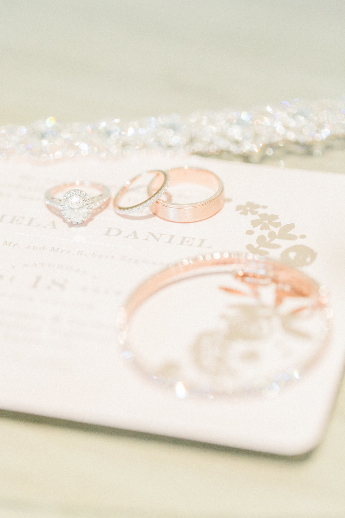 Wedding Details Rose Gold Jewelry