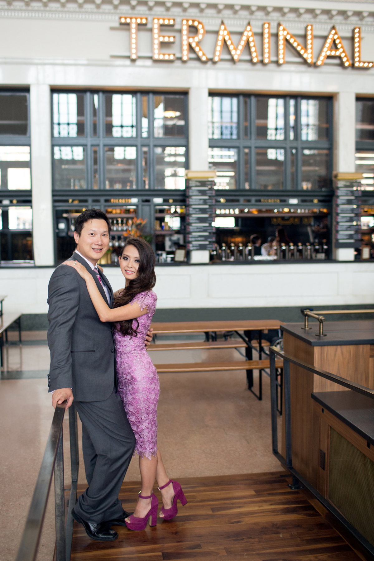 union-station-denver-engagement-photos