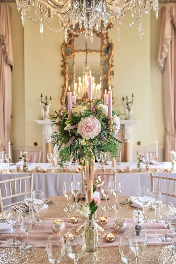Dusky pink and gold wedding Prestwold Hall sm (14)