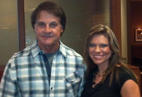 HEATHER CRIDER AND TONY LARUSSA