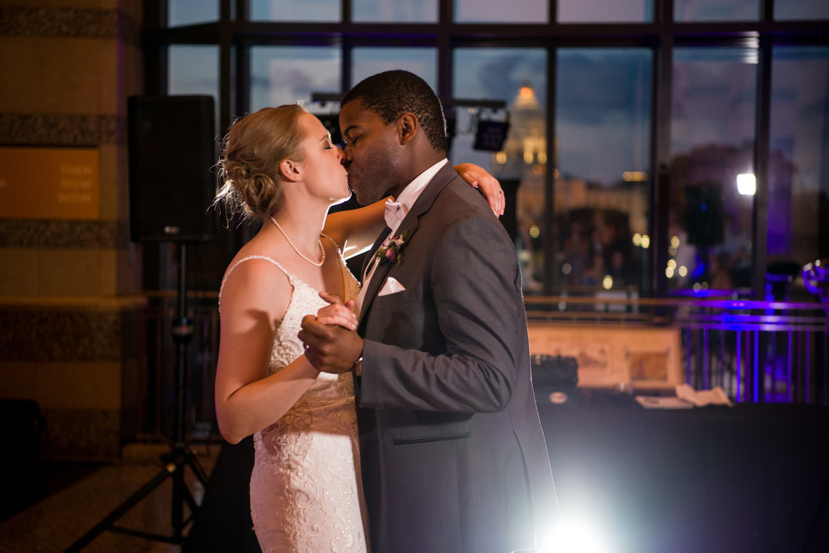 Laura and Adekunle - Minnesota Wedding Photographer - Minnesota History Center - RKH Images - Reception  (273 of 364)