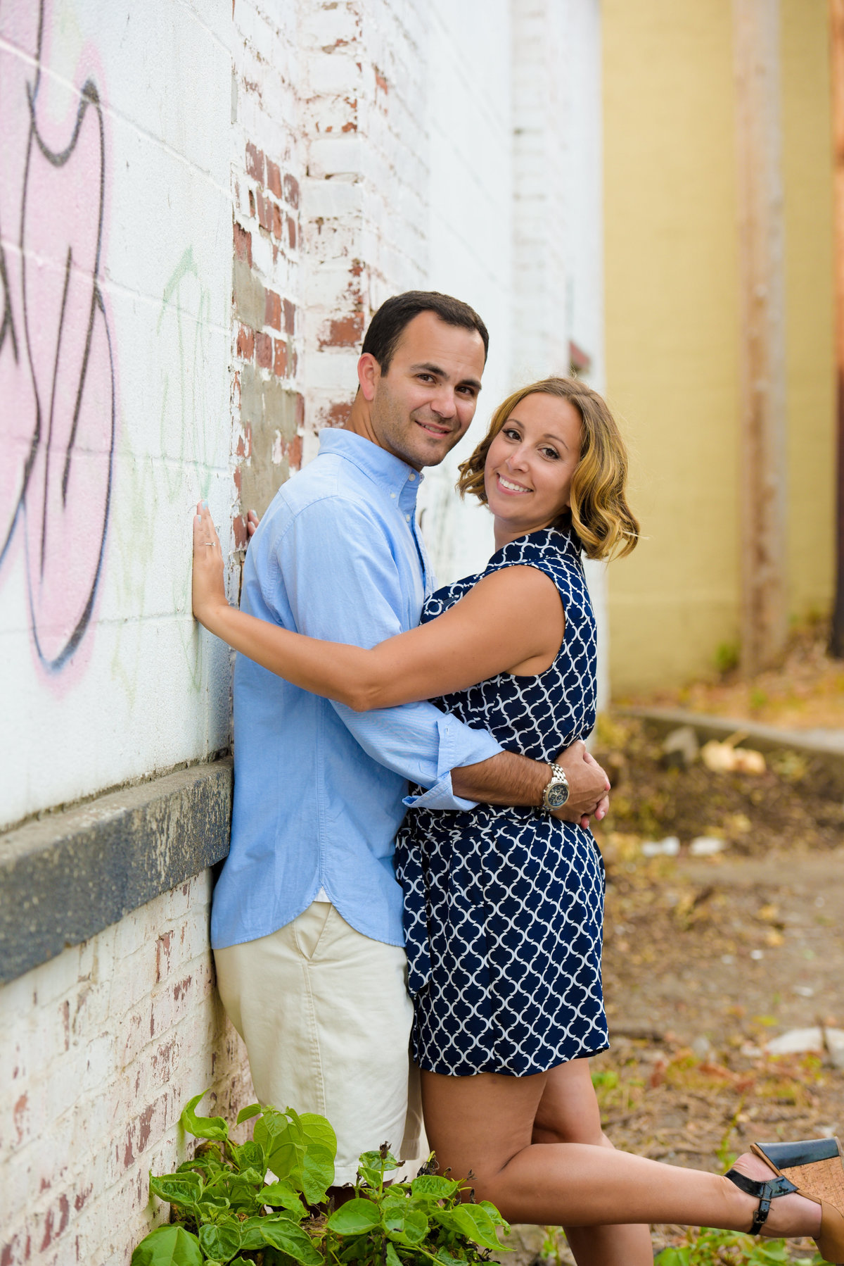 Downtown Saratoga Springs, Saratoga, NY, engagement session