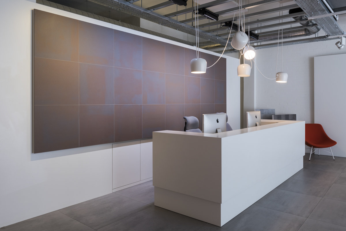 mosa tiles showroom photography London