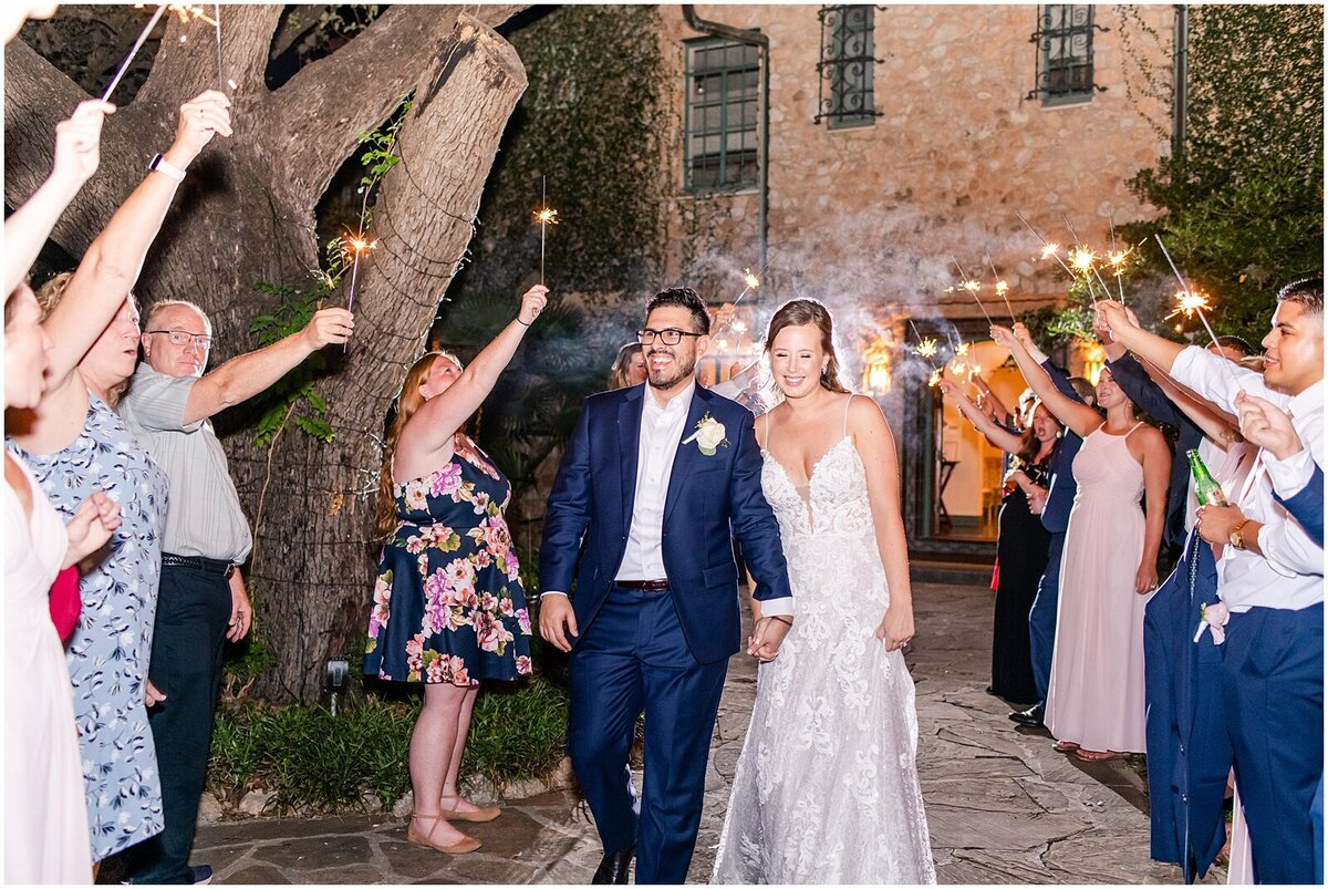 Melissa & Arturo Photography | The Veranda Wedding - Alyssa & Albert - Sparkler Exit 03