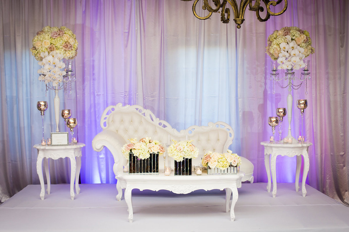 Scripps Seaside Forum wedding photos cool seating for bride