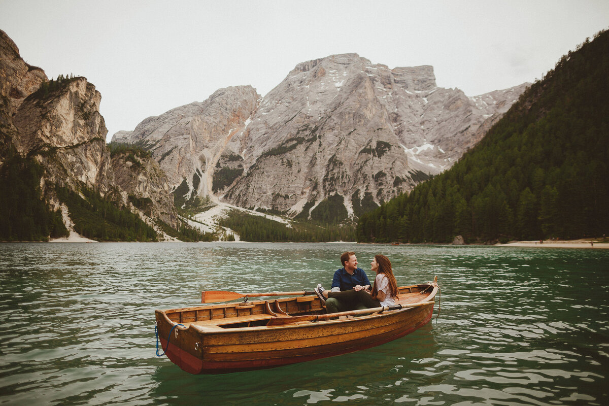 Engagement Shoot Gallery in the DOlomites