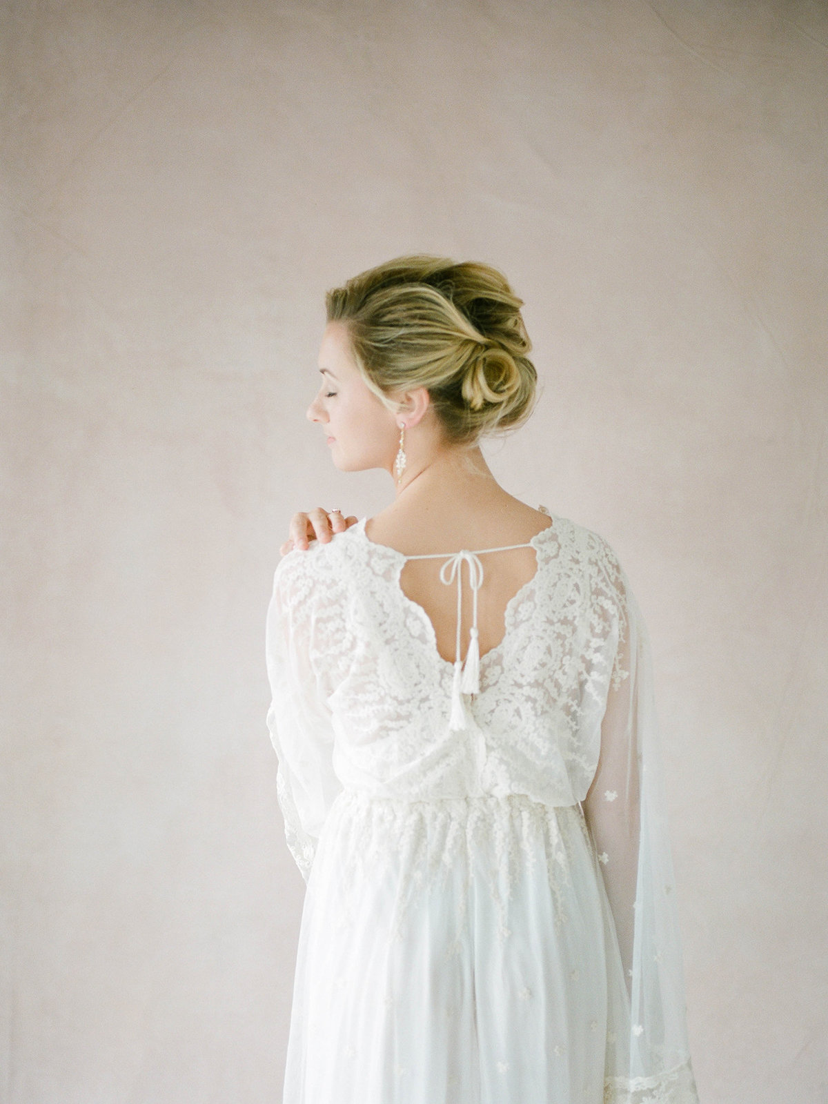 Fine Art Bridal Portraits - Sarah Sunstrom Photography - Film Wedding Photographer - 28