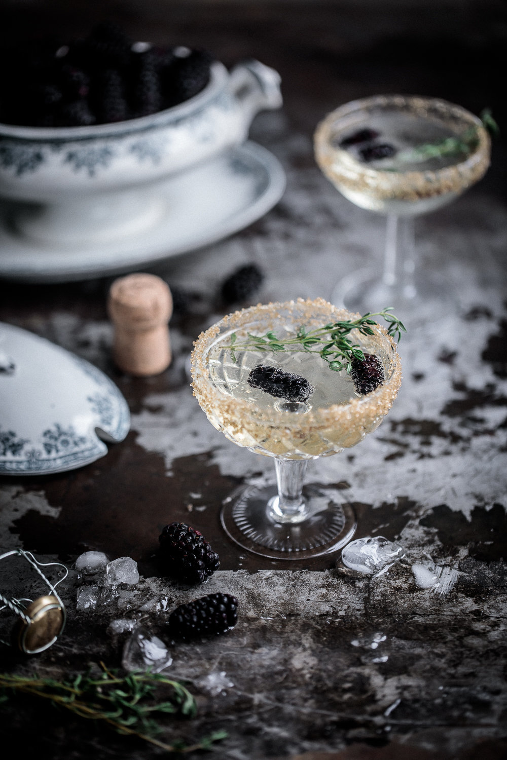 Blackberry and Thyme Fizz | Chandon | Anisa Sabet | The Macadames1