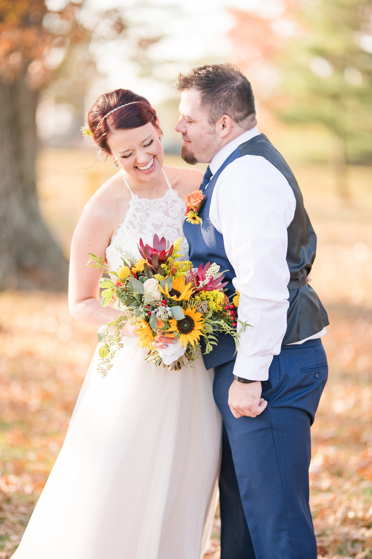 Urban Artifact Brewery Colorful Fall Wedding-47