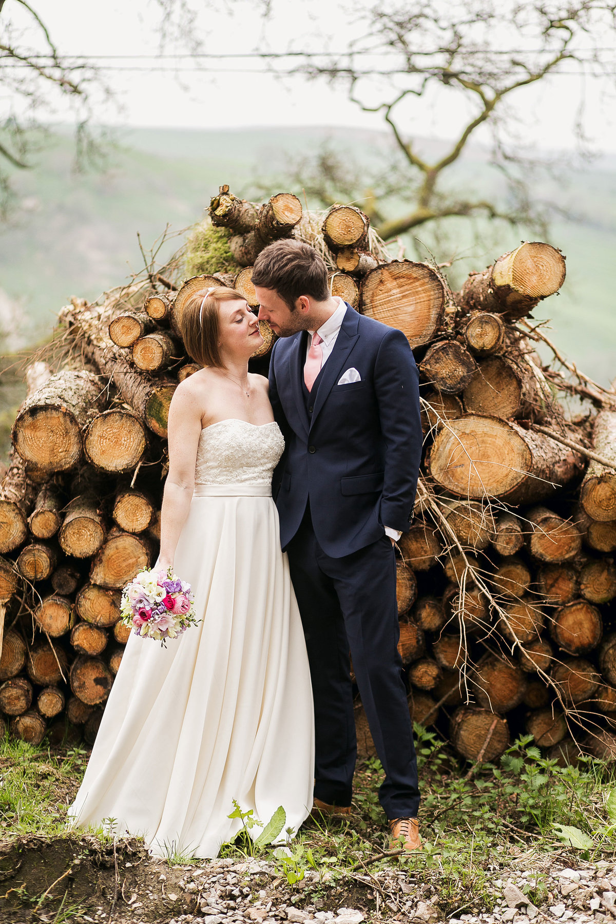 The red Lion in Burnsall Wedding