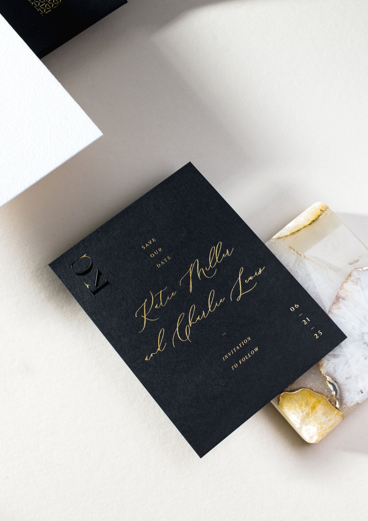 Custom Save the Date | Nikisha King Design_32