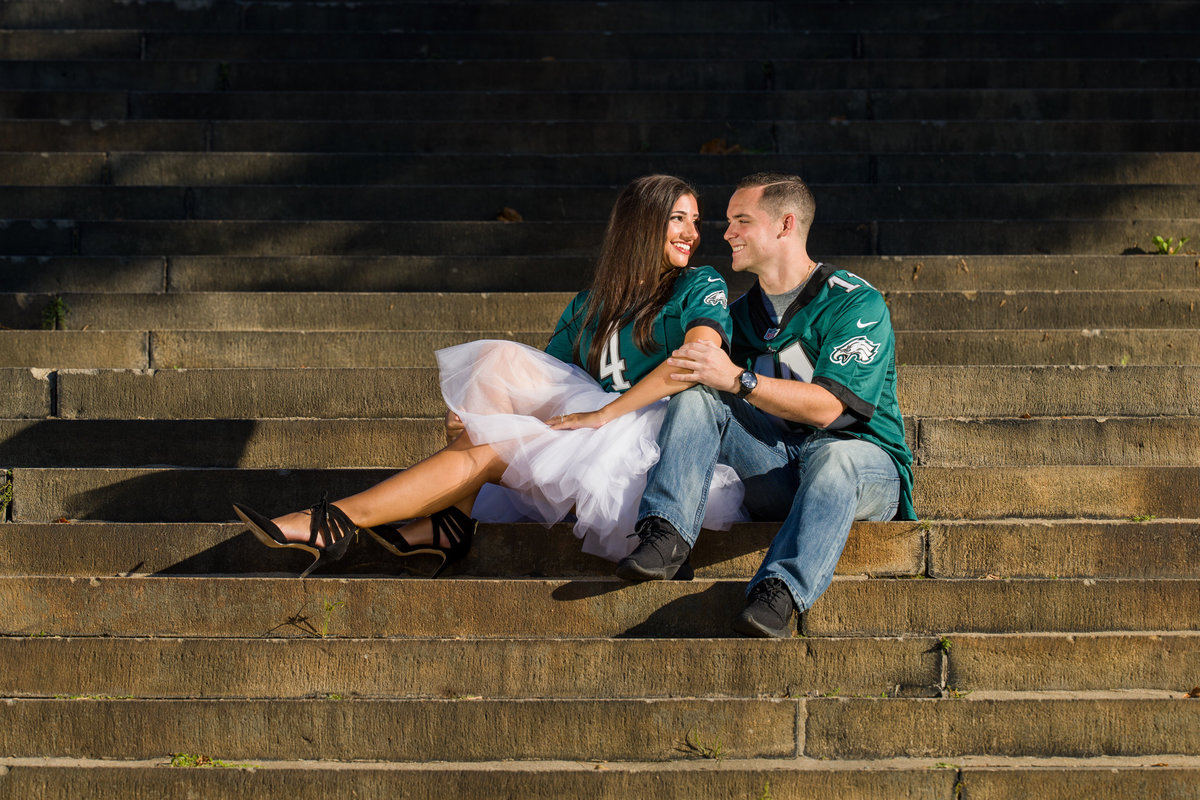 Philadelphia Eagles Engagement Session