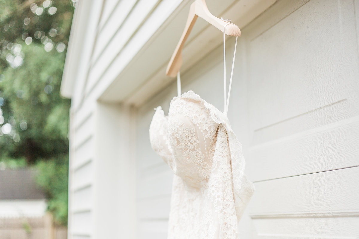 Grand Rapids Michigan home wedding detail photo by Sidney Baker-Green