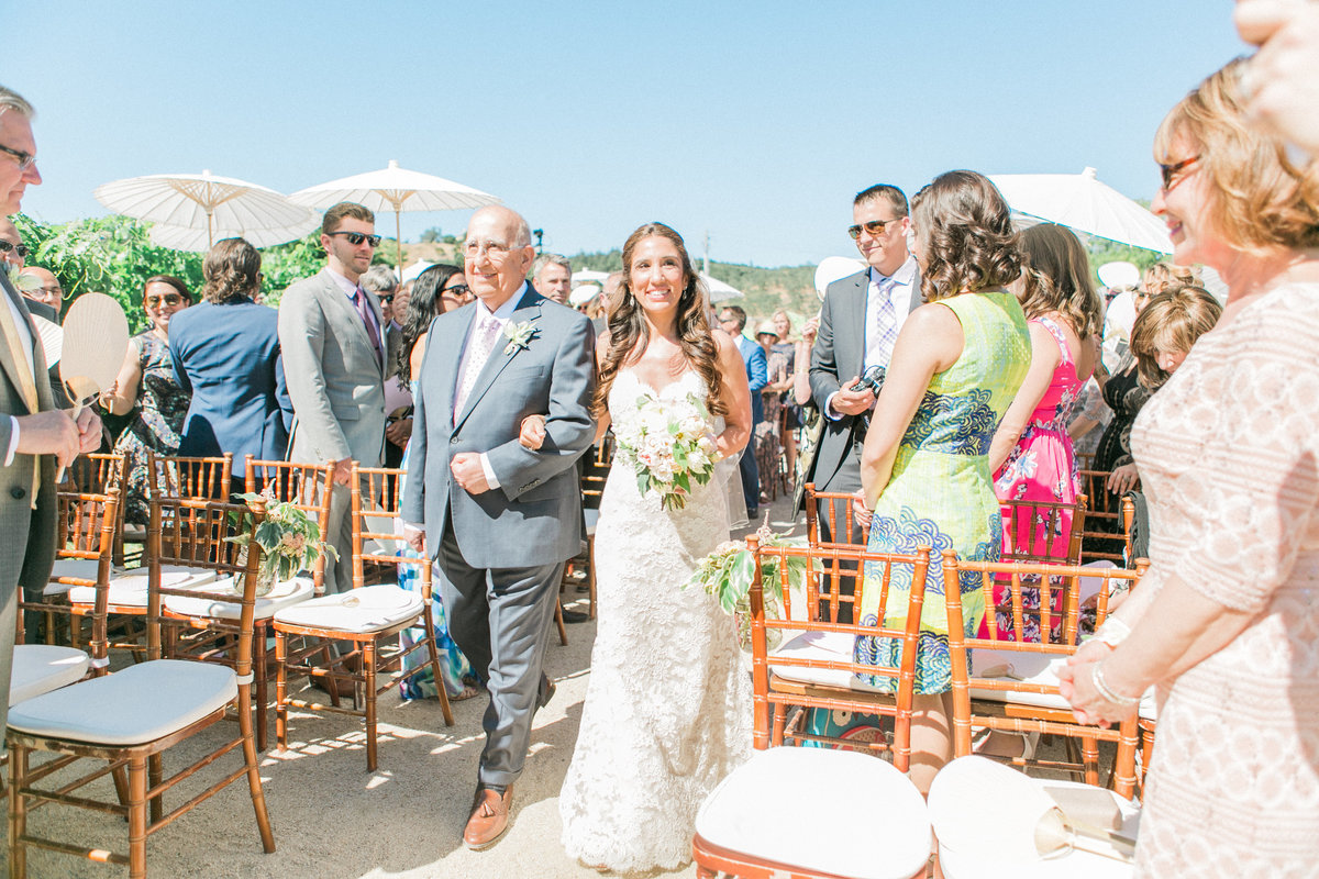 Napa Wedding Ceremony at Brix