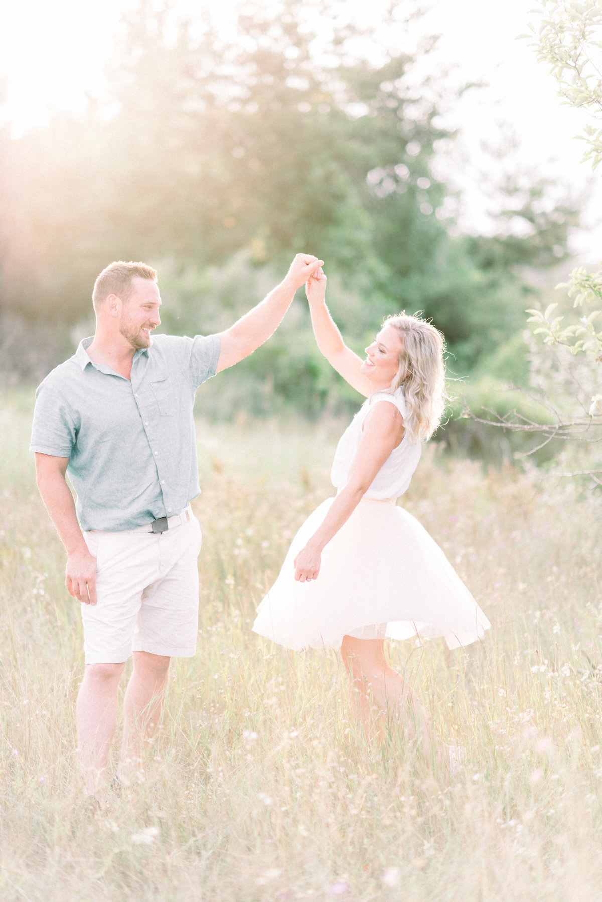Northern Michigan Engagement photograpy