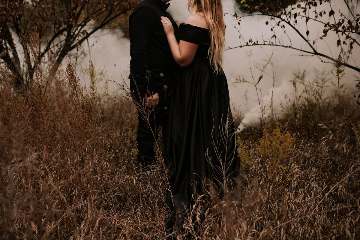 Brizzy-Rose-and-Emma-Rose-Island-Charlestown-Spoopy-Engagement-Session-1