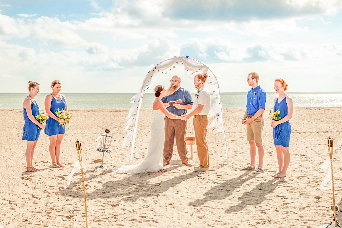 Bald Head Island NC Wedding Photography - Anna and Ray - Ceremony  - Wilmington Photographer Team